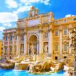 Stock Photo: Fountain di Trevi ,Rome. Italy.