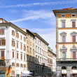 Panorama view of  Florence, Italy. - Stock Photo