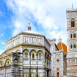 The Basilica di Santa Croce  Florence, Italy — Stock Photo