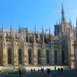 Cathedral Duomo  in Milan. Italy - Stock Photo