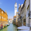 Classic view of Venice, Italy - Stock Photo