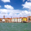 Seaview of Venice, Italy . Panorama — Stock Photo #6360972