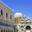 The Doge's Palace ,Cathedral of San Marco, Venice — Stock Photo