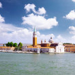 Seaview of Venice, Italy . Panorama — Stock Photo