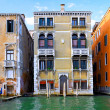 Beautiful street,Grand Canal in Venice, Italy — Stock Photo #6361025