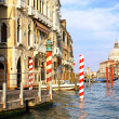 Beautiful street,Grand Canal in Venice, Italy — Photo