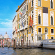 Beautiful street,Grand Canal in Venice, Italy — Stock Photo #6361033