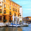 Beautiful street,Grand Canal in Venice, Italy — Stock Photo #6361034