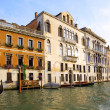 Beautiful street,Grand Canal in Venice, Italy — Stock Photo #6361038