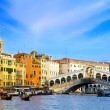 Beautiful street,Grand Canal in Venice, Italy — Stock Photo #6361047
