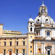 Great church in center of Rome, Italy - Stock Photo