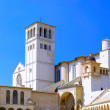 City cview of Assisi. Umbria. Italy - Stock Photo