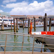 Marine moorage , sea port in Venice. — Stock Photo #6361146