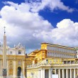 St. Peter's Basilica, VaticCity. Italy — Stock Photo #6361182