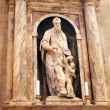 Statue in Duomo Santa Maria Del Fiore. Florence. - Stock Photo