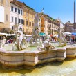 Stock Photo: NavonSquare, centre of Rome, Italy.
