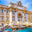 Fountain di Trevi ,Rome. Italy. — Stock Photo #6361290