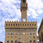 Famous Uffizi Gallery, Italy. — Stock Photo