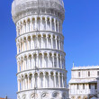 The Famous Leaning tower in Pisa. Italy - Stockfoto
