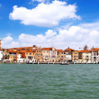 Seaview of Venice, Italy . Panorama - Stockfoto
