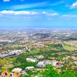 Stock Photo: San-Marino Bird-eye view. Panorama.