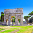 Arch of Constantine  Rome, Italy. — Stock Photo