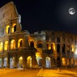 Royalty-Free Stock Photo: The Colosseum, Rome.  Night view