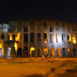 The Colosseum, Rome.  Night view - Stock Photo