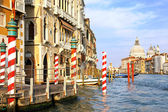 Beautiful street,Grand Canal in Venice, Italy — Foto de Stock