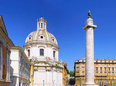 Santissimo Nome di Maria Rome church. Italy. — Stock Photo