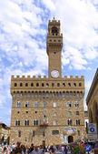 Famous Uffizi Gallery, Italy. — Stock Photo