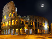 The Colosseum, Rome. Night view — Stock Photo
