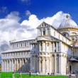 Famous Square of Miracles in Pisa, Italy — Stock Photo #6512696
