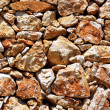 Royalty-Free Stock Photo: Texture of laying rocks