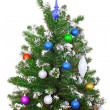 Royalty-Free Stock Photo: Christmas and New Year tree. Isolated
