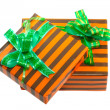 Heap of Christmas,New Year colour gift boxes. - ストック写真