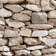 Texture of laying rocks — Stock Photo