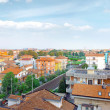 Rimini, bird-eye view city . Italy. - Photo