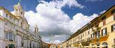 Navona Square, centre of Rome, Italy. — Stock Photo