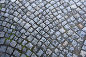 Texture of cobblestone. — Stock Photo