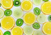 Trama-frutta mix di base. isolato. — Foto Stock