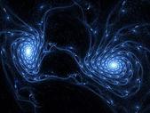 Colour abstract art nebula , backdrop . — Stock Photo