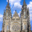 Cathedral of st. Vitus, Vaclav and Voiteha. Prague - Stockfoto