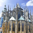 Royalty-Free Stock Photo: Cathedral of st. Vitus, Vaclav and Voiteha. Prague