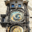 Astronomical clock on Staromestska Square, Prague — Stock Photo