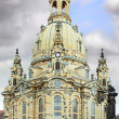 Dresden Frauenkirche (Church of Our Lady) Dresden - Stock Photo
