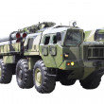 Militaru technics. Isolated — Stock Photo