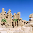 Karnak Temple , Luxor, Egypt. — Stock Photo