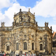 Katholische Hofkirche-Catholic Church, Dresden — Stock Photo