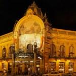 Municipal House, Prague . (Panorama) — Stock Photo #6596097